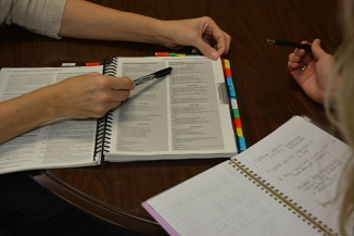 The course catalog is used to help students identify which classes would be the best to take.