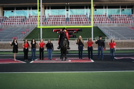 Several generations of Masked Rider legacies. These men and women help with the continued success of the program.
