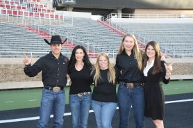 These former Masked Riders still involve themselves in the Masked Rider program. Meet Bradley Skinner, JoLynn Frankfather, Christi Chadwell, Rachel McLelland, and Stacy Stockard.