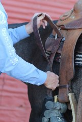 Time to cinch up.