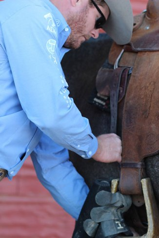 Make sure everything is tight before saddling up for a day of work.