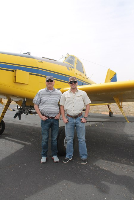Cameron Kitten and his father, Philip, are beginning to gear up for a busy season of spraying.