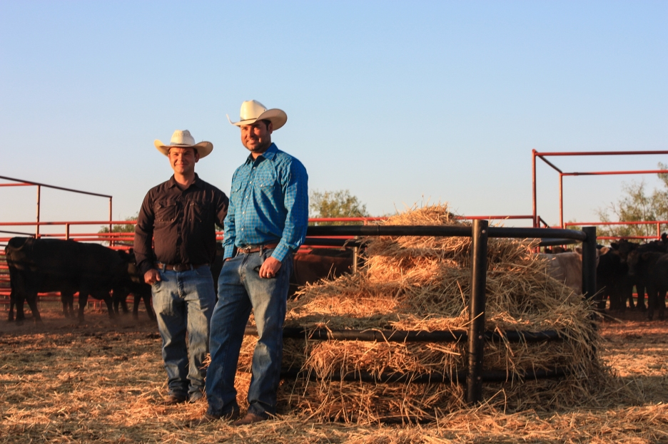 Along with their brother Ben, Tom and Dan are the fifth generation to work the approximately 30,000 acres that makes up the Griffin Ranch.