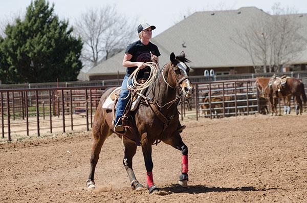 Texas Tech Rodeo Team member